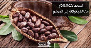 استعمالات الكاكاو