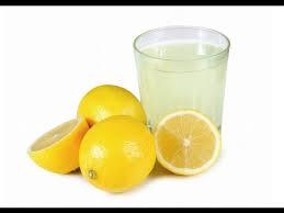 عصير الليمون الحامض