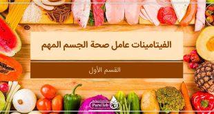 الفيتامينات عامل صحة الجسم المهم-القسم الأول