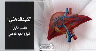 أنواع الكبد الدهني