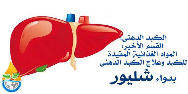 الكبد الدهني؛ -القسم الأخير: المواد الغذائية المفيدة للكبد وعلاج الكبد الدهني بدواء شليور
