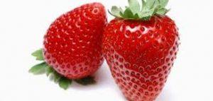 10 فواكه لمرضی السكري الفراولة