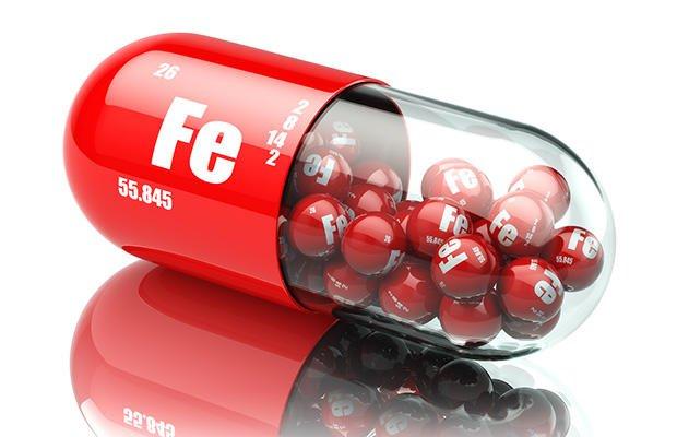 فقر الدم الناتج عن نقص الحديد-حبوب الحديد