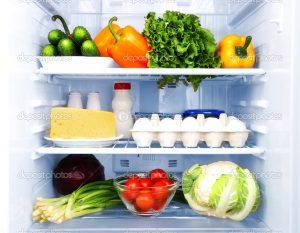 حرارة الجو-الفواكه والخضروات الباردة