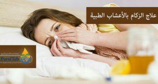 علاج الزكام بالأعشاب الطبية