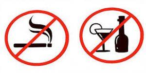 خفض ضغط الدم المرتفع بالإقلاع عن التدخين والكحول