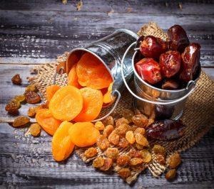 الفواكه المحذورة لمرضى السكري-الفواكه المجففة