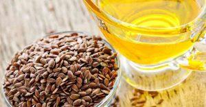 الزيوت المفيدة للقلب-الدهون المفيدة للقلب-زيت بذور الكتان
