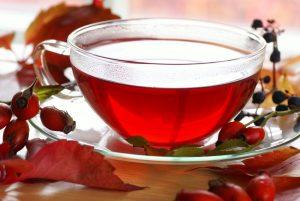 بدائل القهوة الصحية-شاي ثمرة الورد