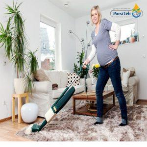تنظيف البيت خلال الحمل-الغسل والكنس من الأعمال التي لاينبغي على المرأة الحامل القيام بها