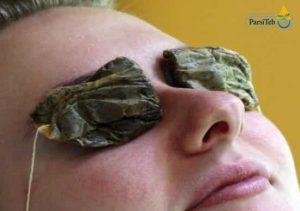 10 طرق طبيعية لعلاج تورم وانتفاخ العيون والجفون-الشاي الأخضر