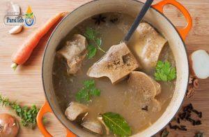 14 أكلة صانعة الكولاجين-شوربة العظام