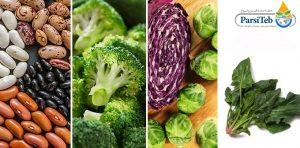 14 أكلة صانعة للكولاجين-أنواع الفاصوليا وخضروات ذات أوراق داكنة