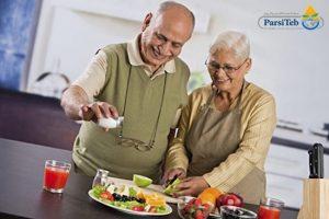 الحمية الغذائية الخاصة للمسنين