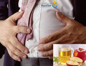 علاج أمراض المعدة بخل التفاح -خل التفاح وسوء الهضم-خل التفاح لعلاج المغص وآلام البطن