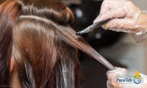صبغ الشعر للوقاية والتخلص من القمل