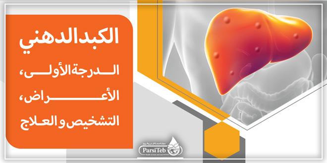 الكبد الدهني الدرجة الأولى