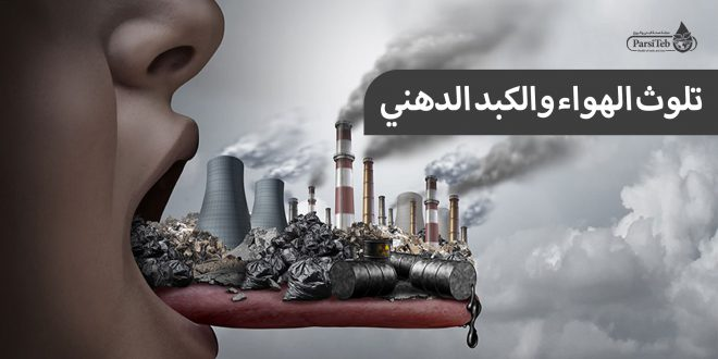 تلوث الهواء والكبد الدهني-الكبد الدهني وتلوث الجو