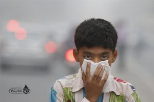 تأثير تلوث الهواء على الجسم