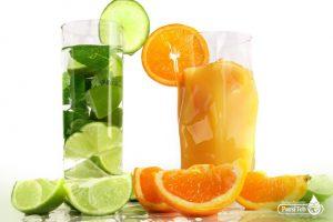 عصير البرتقال والليمون الحامض لعلاج العدوى البولية