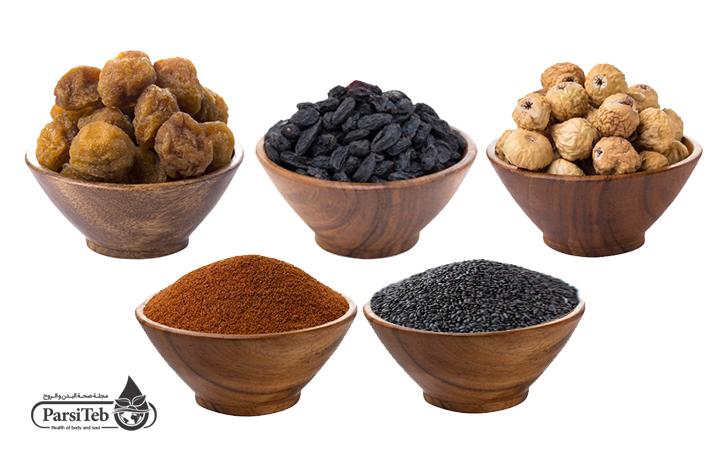بعض المواد الغذائية المفيدة لعلاج الإمساك