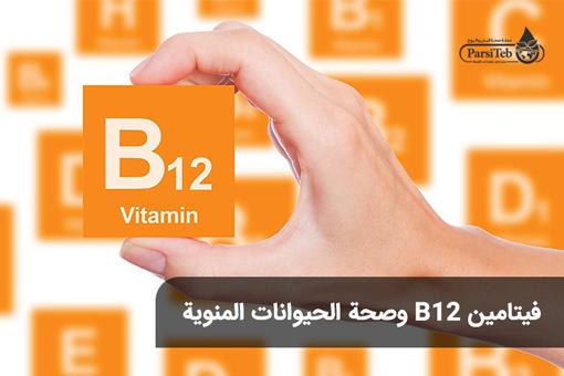 فيتامين B12 وصحة الحيوانات المنوية