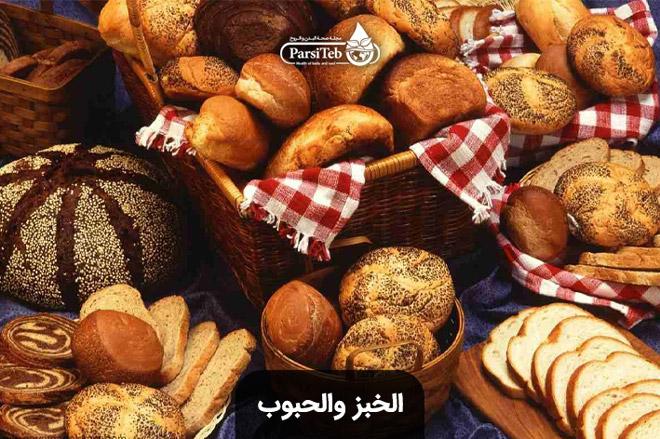 فئة الخبز والحبوب